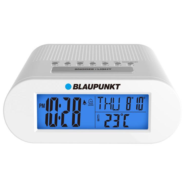 Ceas cu radio si alarma pentru noptiera