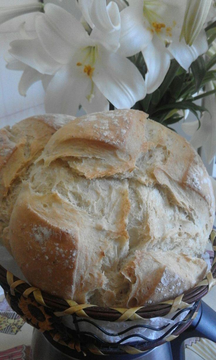 PAN NORMAL     Ingredientes: (Para 8 panes redondos de 85 gramos  cada uno, dos buenos panes como el de la fotografía, uno, ...