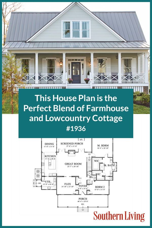 Why We House Plan 1936 | Southern house plans, Southern ... Contemporary Farmhouse Plans Southern Living on