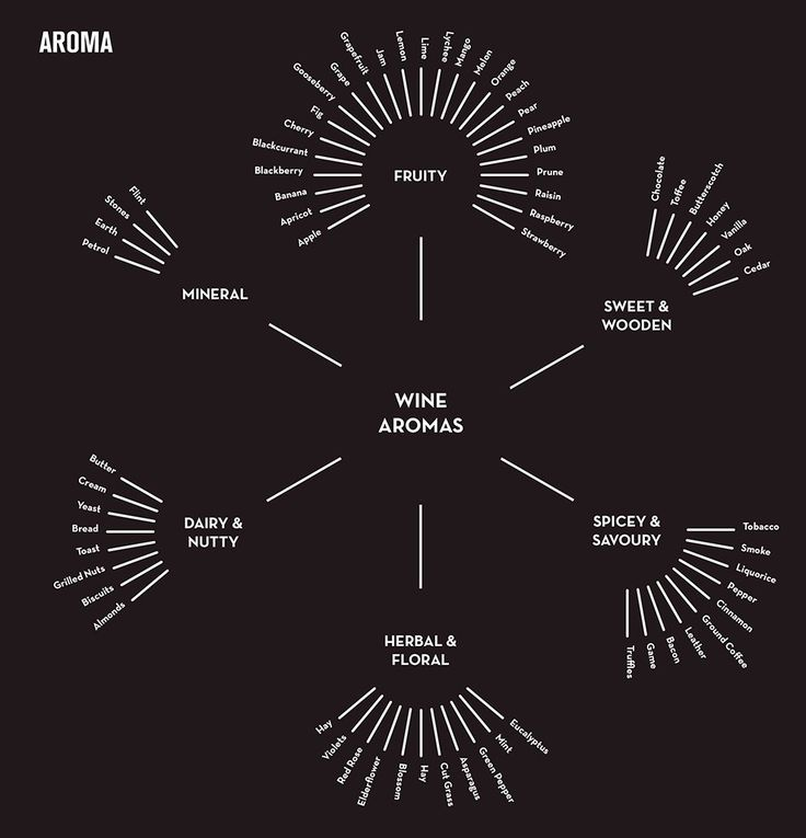 A beginner's guide to Wine Aroma Infographic