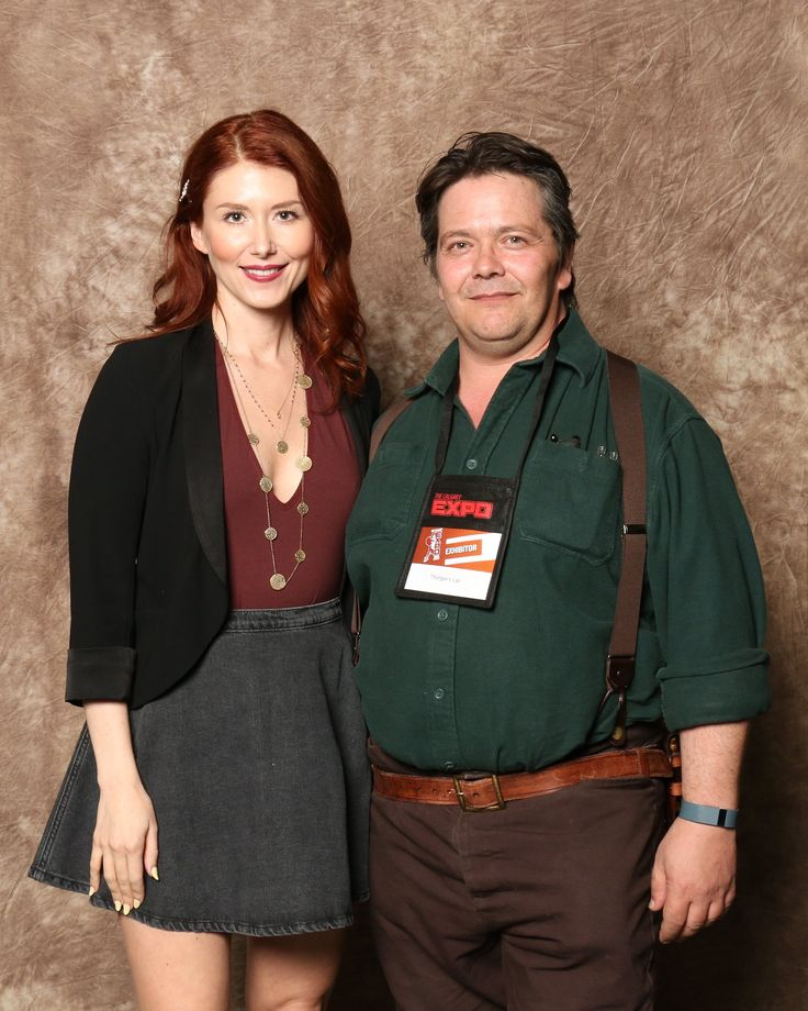 Myself and Jewel Staite from Firefly and Star Gate Atlantis at the Calgary Comic Expo