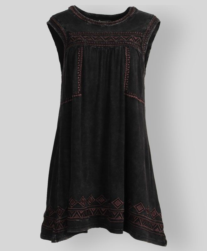 Suede embroidered dress. #AggieGifts #AggieStyle