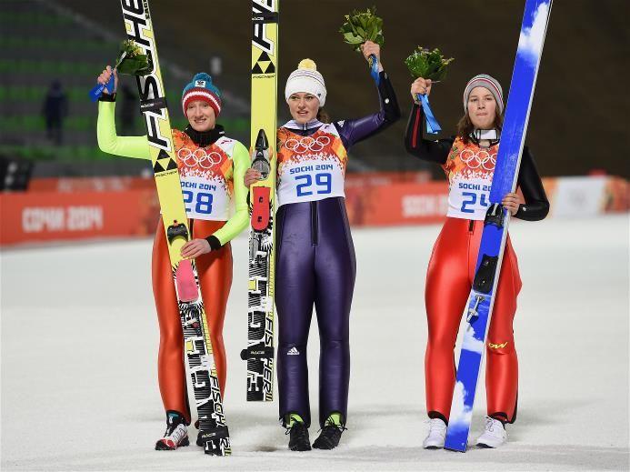Sochi 2014 Day 5 - Ski Jump Ladies' Normal Hill Individual Final