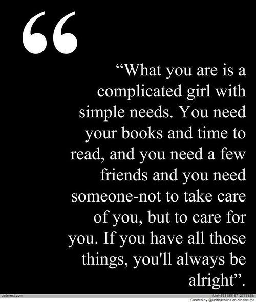 simple needs
