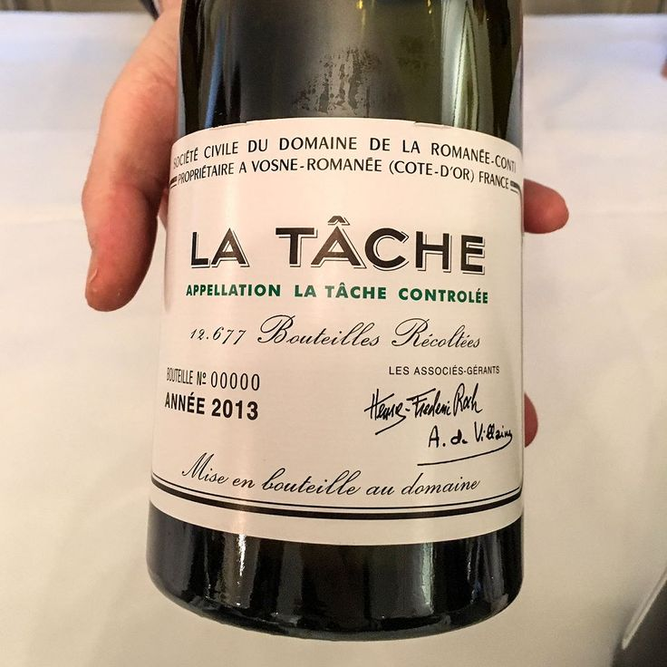 2013 Domaine de la Romanée-Conti (DRC) La Tache Burgundy France  This is one of the two monopoles of Domaine de la Romanée-Conti.  Introverted at first but with time shows concentration of earth red cherry and spicy minerals supported by an impeccable concentration. A wine of sharp focus.  ______________________________________________________ #DomaineDeLaRomaneeConti #RomaneeConti #LaTache #Burgundy #FineWine # #DRC #BurgundyWine #2013 #Sommelier #TastingNotes #WineTasting #WinesOfInstagram…