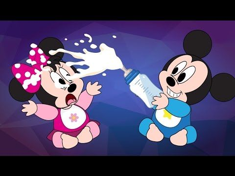 Mickey Mouse Babies Fight Over Milk Crying New Episodes! Minnie Mouse, Donald Duck Cartoon - YouTube