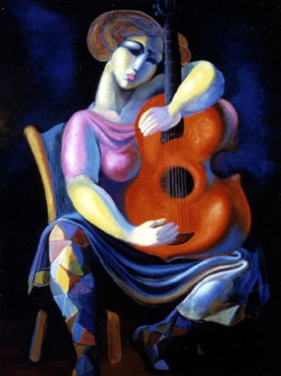 Music, the harmony of life: paintings by Raff Boyadjian - ego-alterego.com