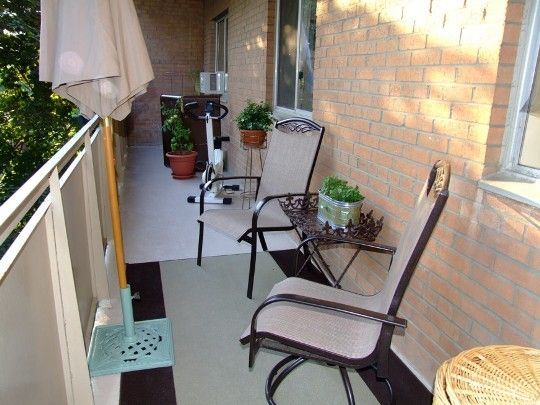 here are a large collection of cool small balcony design ideas for decorating small outdoor seating areas that help add chic and charm to your home