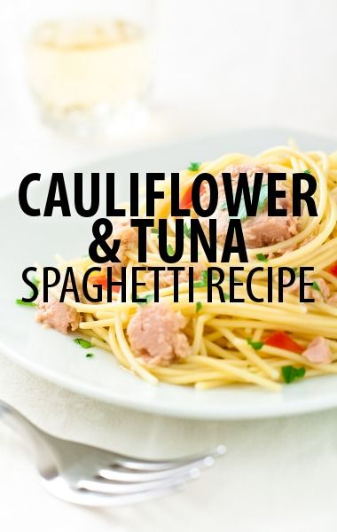 Rachael Ray called her Cauliflower & Tuna Spaghetti Recipe an easy go-to dish that allows you to throw together a few basic ingredients for big flavor. http://www.recapo.com/rachael-ray-show/rachael-ray-recipes/rachael-ray-cauliflower-tuna-spaghetti-recipe-sustainable-tuna/