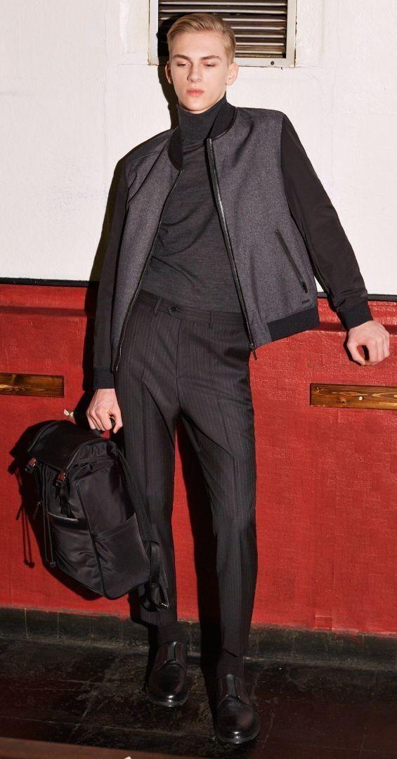 Hugo Boss Menswear FW/16 Lookbook (Hugo Boss)