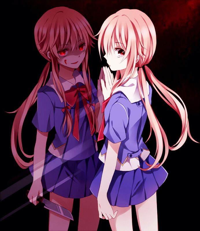 Yuno gasi. Source: the future diary.