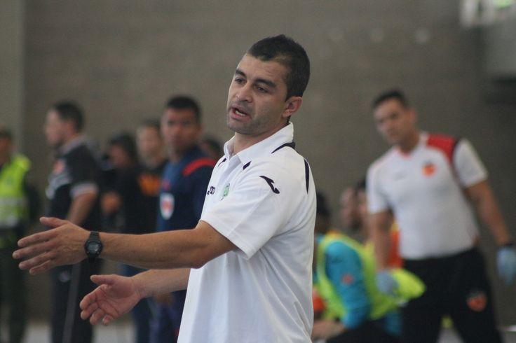 Geovanny Escobar , DT de Real Antioquia.