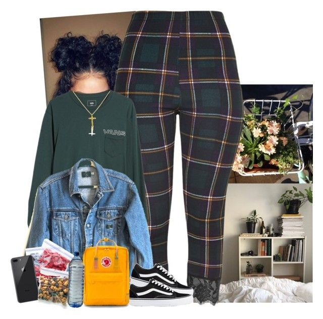 """"""""""" by jemilaa ❤ liked on Polyvore featuring Vans, Calvin Klein Jeans, Fjällräven and Belcho"""