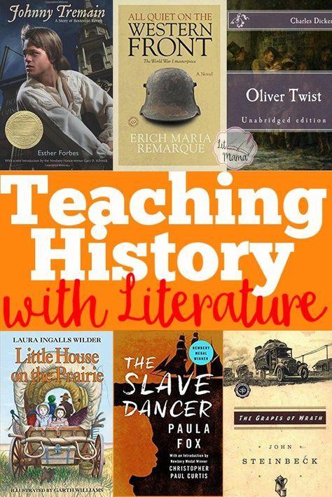 Teaching History With Literature Homeschool Pinterest Teaching
