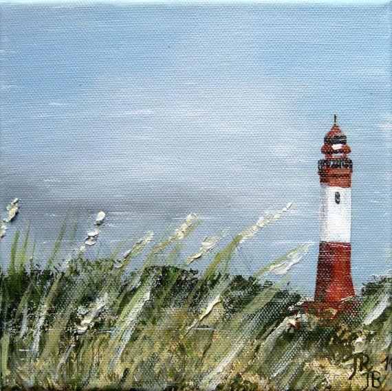 Acrylbild Leuchtturm 20 x 20 x 1,5 cm  Charmepainting 33,00 €