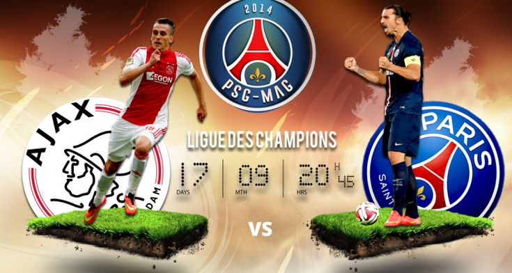 Vidéo buts Ajax PSG 1-1 (Résumé match) - http://www.actusports.fr/118455/video-buts-ajax-psg-resume-match/