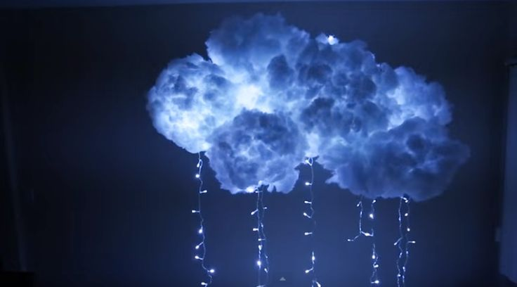 How To Make DIY Cloud Lights Tutorial Want to make cool DIY room decor? This easy DIY project for teens is made with string lights and a couple of paper lanterns - we think it is really awesome. Check out the step by step tutorial to see how easy it is to make this fun DIY for your room. It is ch