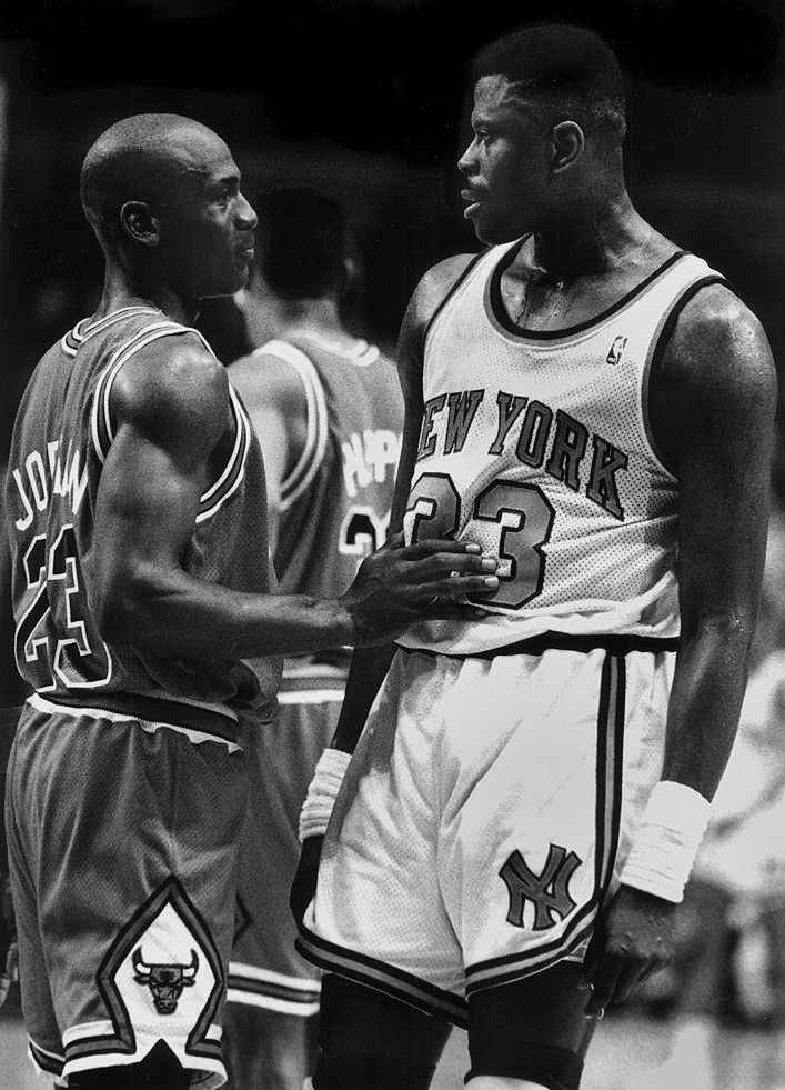 M.J. And Pat Have A Moment.