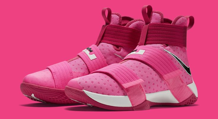 "Nike LeBron Soldier 10 ""Think Pink"" 