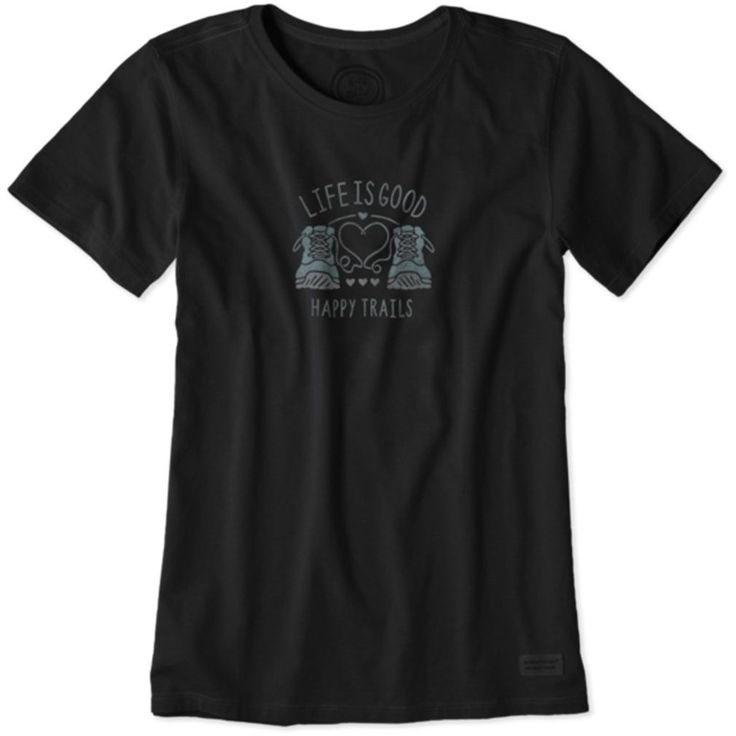 Happy Trails Boots Crusher T-Shirt by Life is good