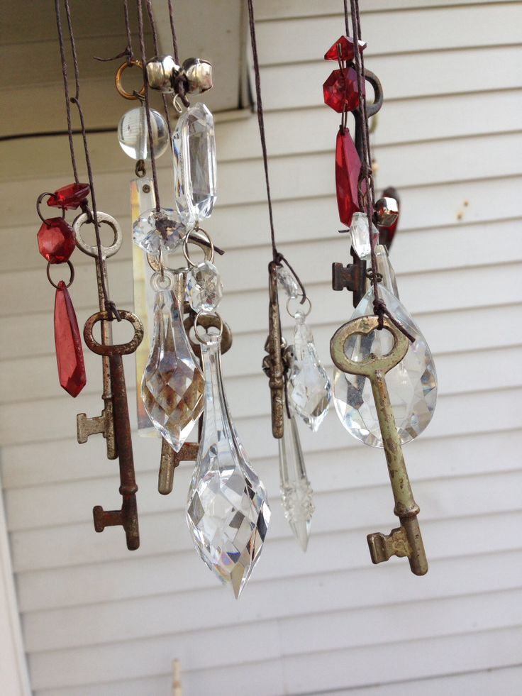 Pin by Roy Crager on Crafts Crystal wind chimes, Wind