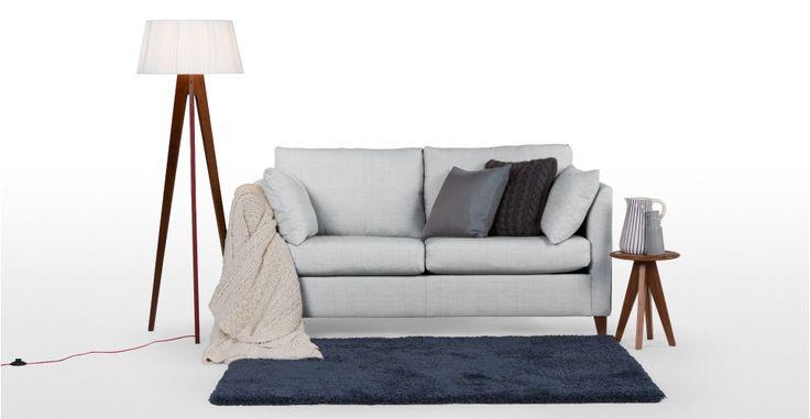 Bari Sofabed, Malva Blue Grey | made.com