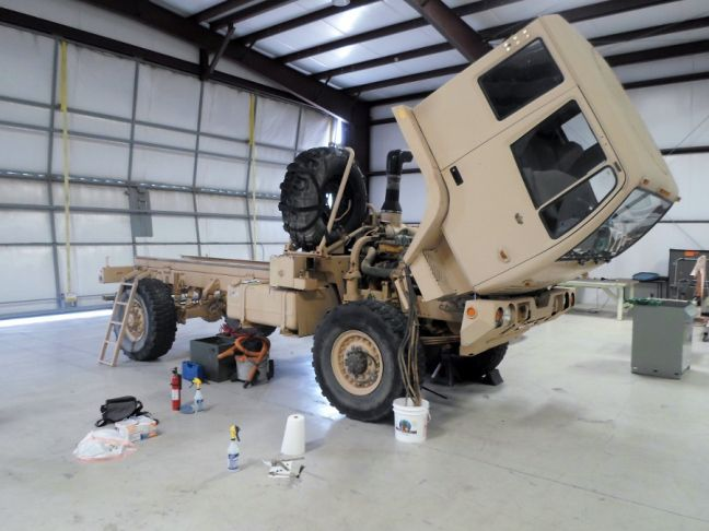 Fuchs LMTV to Expedition Vehicle Build Log