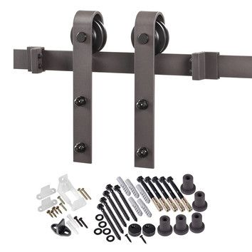 You'll love the Bent Strap Sliding Barn Door Hardware at Wayfair - Great Deals on all Home Improvement products with Free Shipping on most stuff, even the big stuff.