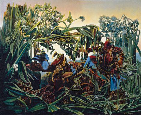 Max Ernst, Nature at Dawn (Evensong) (La Nature À L'aurore (Chant Du Soir)) on ArtStack #max-ernst #art