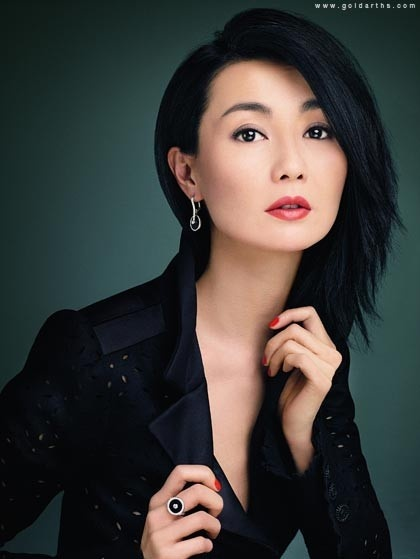 #Hong Kong actress #Maggie Cheung for Piaget 2008