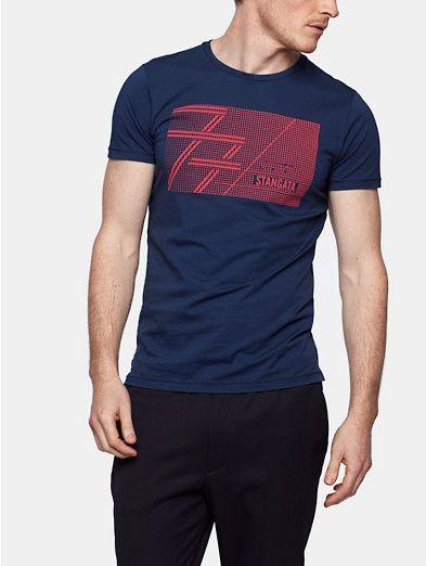 Sportief t-shirt kobaltblauw - The Sting