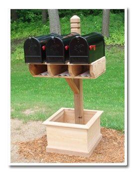 Jacku0027s Trades   Cedar Mailbox Posts   Enjoy The Natural Beauty Of Wood