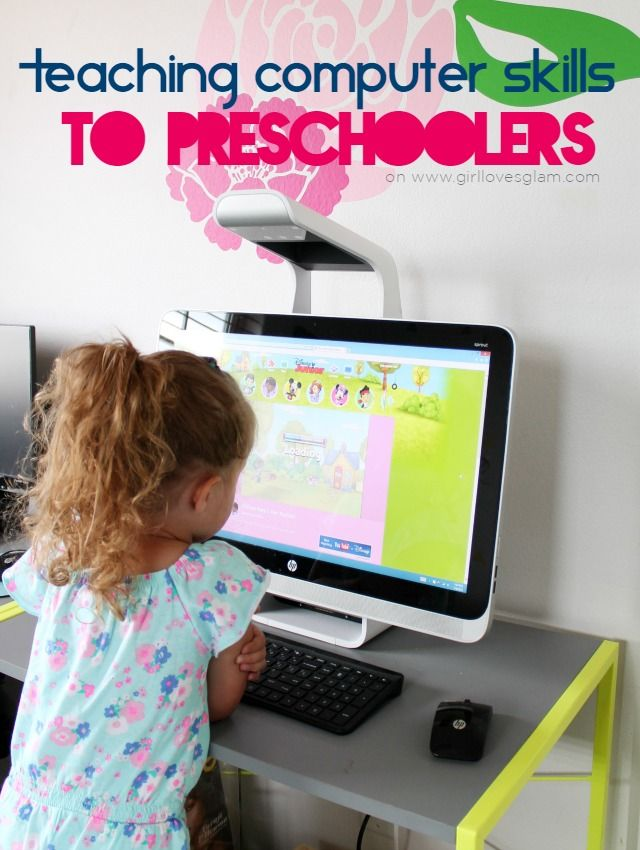 Teaching Computer Skills to Preschoolers on www.girllovesglam.com #SproutbyHP #ad #CIY