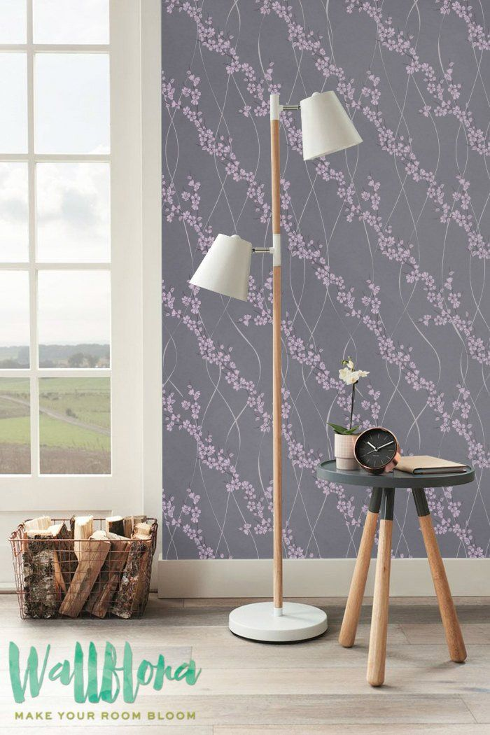 DESCRIPTION Transform any room in your home into a sakura paradise with this self-adhesive wallpaper! This vinyl wallpaper features a bright print of sakura wal