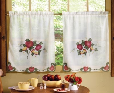 Curtains Ideas apple curtains for kitchen : 78 Best images about Apple Kitchens on Pinterest | Fruit kitchen ...