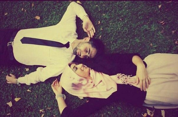 Muslim couple.