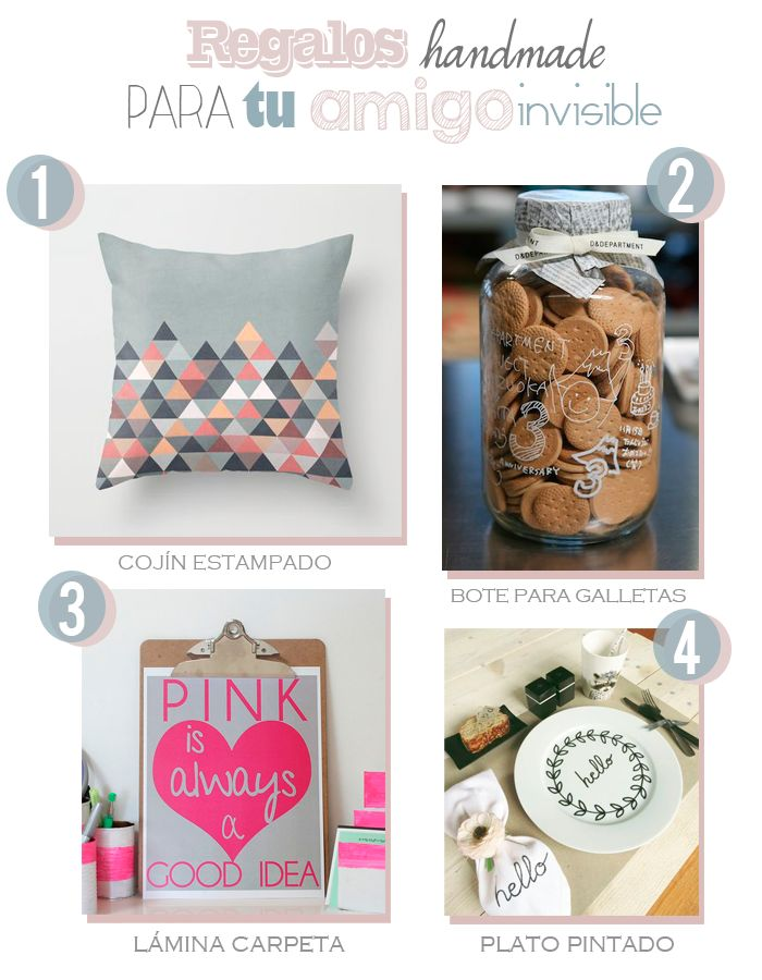 8 regalos handmade para tu amigo invisible - Aubrey and Me