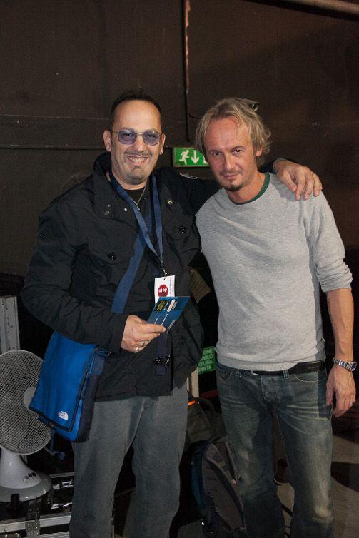 Carlo Zannetti e Luca Colombo . Milano 2013