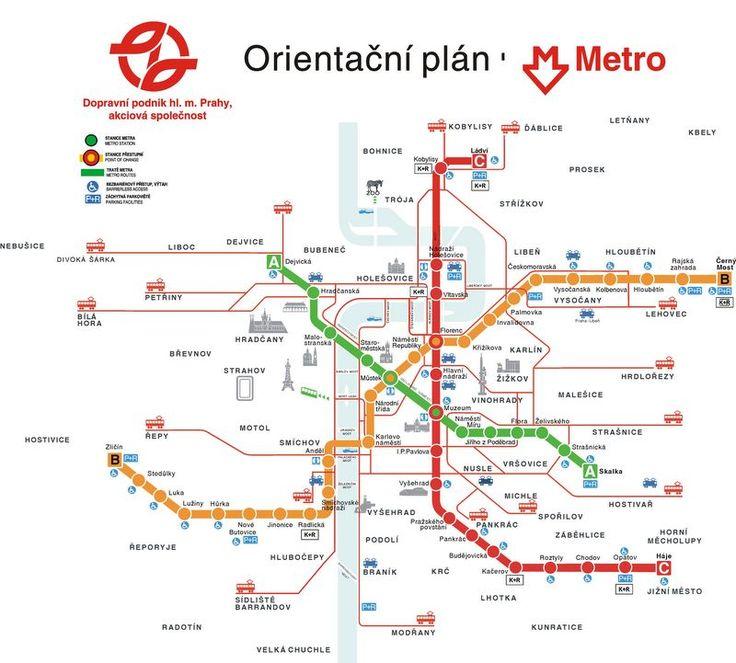 Prague Metro Map Metro Identity Pinterest Prague And Subway Map - Dusseldorf metro map