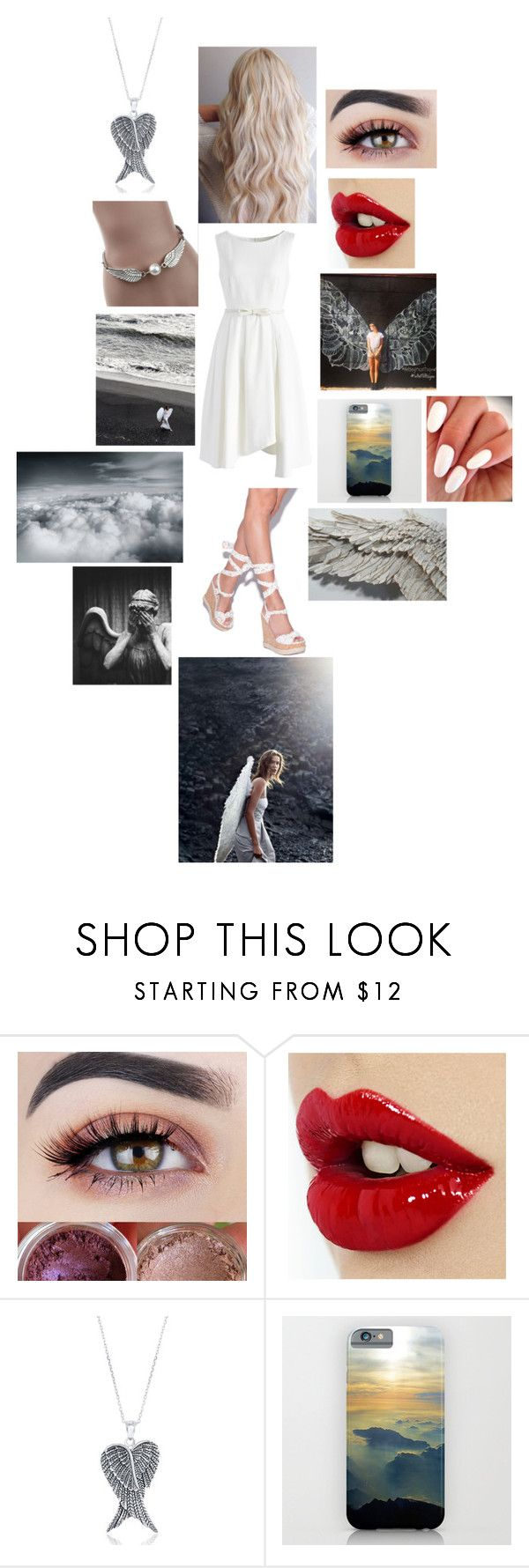 """""""The supernatural - Angel"""" by rosemarieyoung ❤ liked on Polyvore featuring beauty, GET LOST, La Preciosa and Chicwish"""