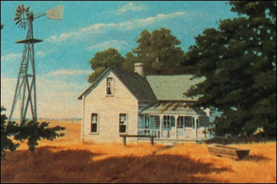The original Southfork ranch - looks a bit like the Star E