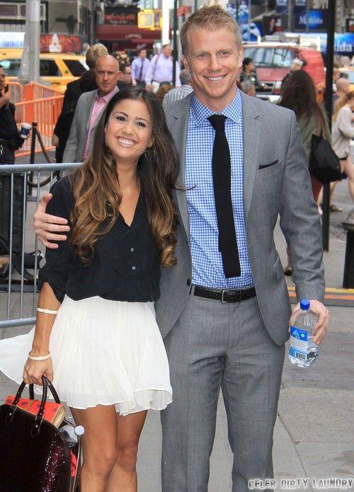"Sean Lowe & Catherine Giudici Visit ""Good Morning America"""