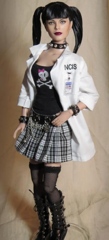 NCIS Abby Sciuto custom doll by Shannon Craven