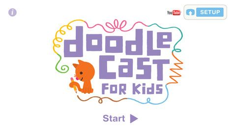 Doodlecast is a unique drawing app that records your voice as you draw. Play back your drawing and export it to share with friends and family. Visit the Doodlecast for Kids support page to see the app in action.    Gör en ritsaga.