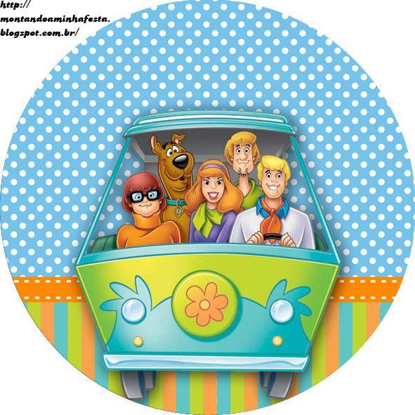 Montando minha festa: Kit digital Scooby doo
