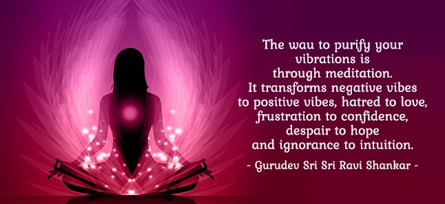 How To Make Your Vibrations Positive | The Art Of Living Global