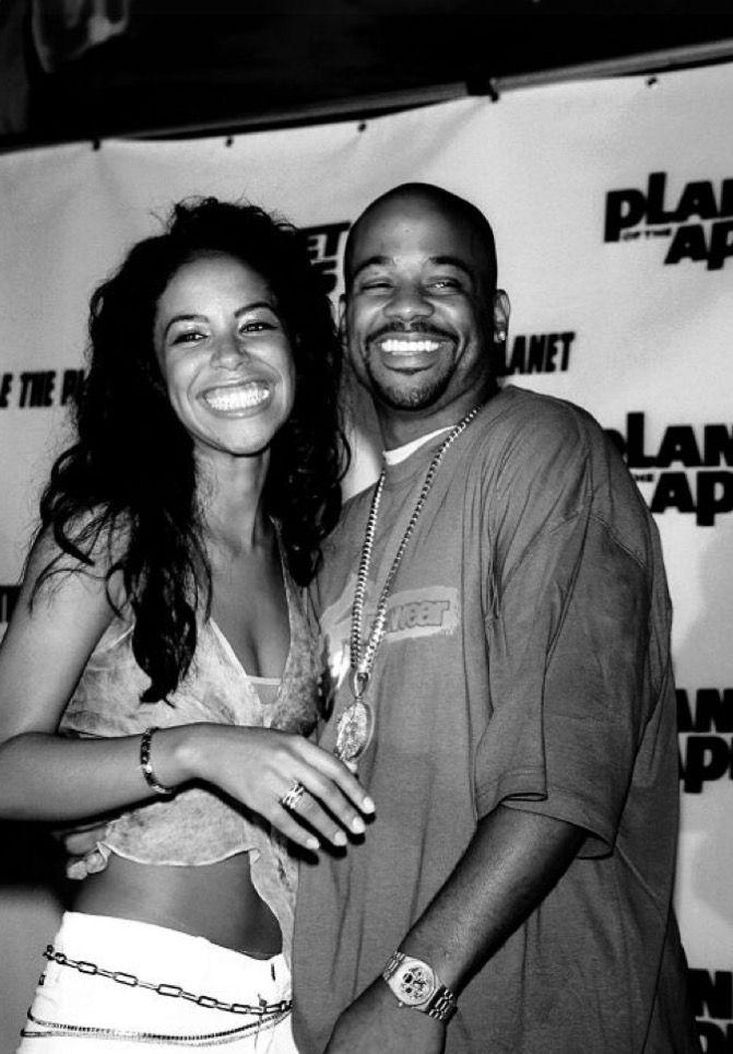 Aaliyah(rip) & Dame Dash