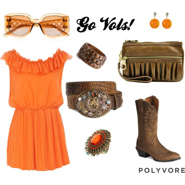 Go Vols! I would wear this to a TN game if I could pull it off. lol