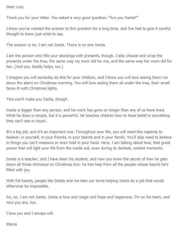 Martha Brockenbrough - Santa Letter - 4 Heartwarming Letters to Explain Santa to Your Kids