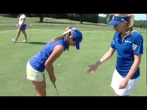 Coach's Quick Tip - Women's Golf - Putting - YouTube
